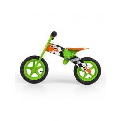 Dětské odrážedlo kolo Milly Mally Flip green Zelená