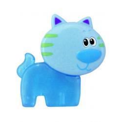 Chladící kousátko Baby Mix Kočička modré Modrá