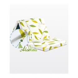 Skládací matrace do postýlky Sensillo Bloom 120X60 cm Bílá