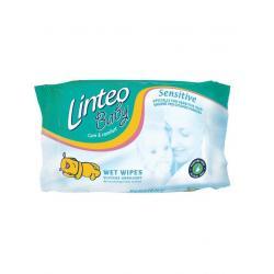 Vlhčené ubrousky Linteo Baby 64 ks Sensitive Dle obrázku