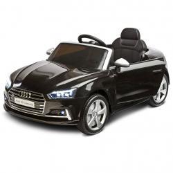 Elektrické autíčko Toyz AUDI S5 - 2 motory black Černá