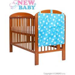 Kapsář New Baby hvězdičky tyrkysový