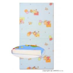Dětská pěnová matrace modrá - různé obrázky Modrá