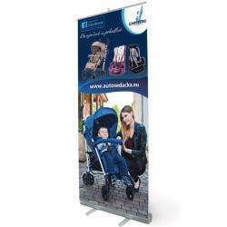 Reklamní Roll-up banner Caretero Dle obrázku