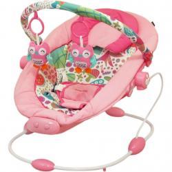 Dětské lehátko Baby Mix dark pink Růžová