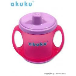 Barevný kouzelný hrníček Akuku fialový Fialová