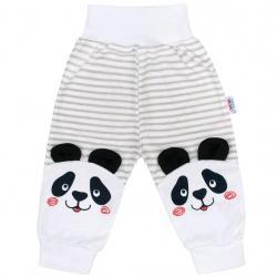 Kojenecké tepláčky New Baby Panda Šedá velikost - 86 (12-18 m)