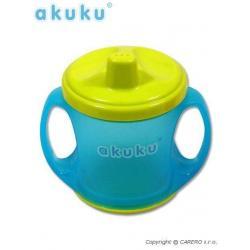 Barevný kouzelný hrníček Akuku modrý Modrá