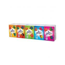 Papírové kapesníky Linteo Kids mini 10x10ks bílé 3-vrstvé Dle obrázku