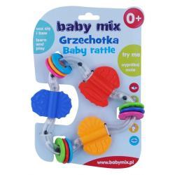 Dětské chrastítko Baby Mix barevný trojuhelník Dle obrázku