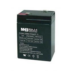 Pb akumulátor MHB VRLA AGM 6V/4,5Ah Černá