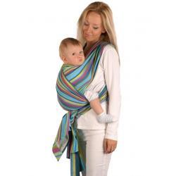 Šátek Womar na nošení dětí Zelená