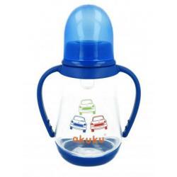 Láhev s obrázkem  Akuku 125 ml modrá Modrá