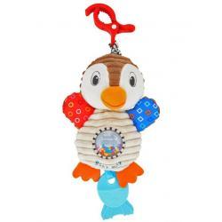 Plyšová hračka s vibrací Baby Mix tučňák Dle obrázku