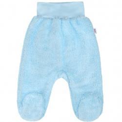 Zimní polodupačky New Baby Nice Bear modré Modrá velikost - 56 (0-3m)