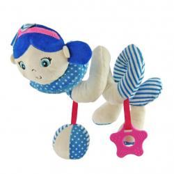 Hračka na postýlku Spirála Baby Mix námořník holka blue Modrá