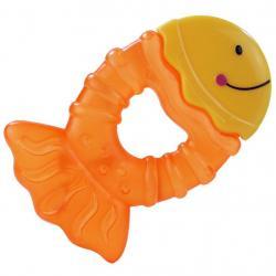Chladící kousátko Baby Mix rybka Žlutá
