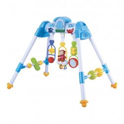 Dětská hrající edukační hrazdička De Lux Baby Mix blue Modrá