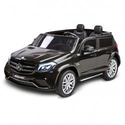 Elektrické autíčko Toyz MERCEDES GLS63 - 2 motory black Černá