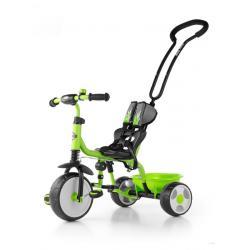 Dětská tříkolka se zvonkem Milly Mally Boby 2015 green Zelená
