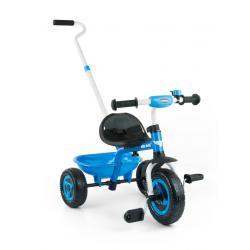 Dětská tříkolka Milly Mally Boby TURBO blue Modrá