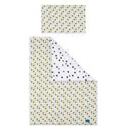 6-dílné ložní povlečení Belisima Koťátka 90/120 žluté Žlutá