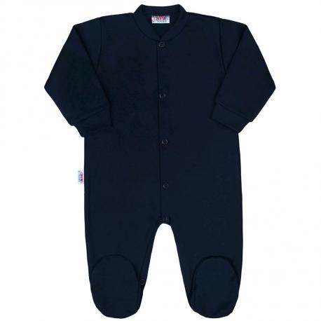 Kojenecký overal New Baby Classic II tmavě modrý Modrá velikost - 68 (4-6m)