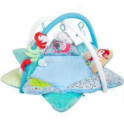 Hrací deka s melodií PlayTo Fox Modrá