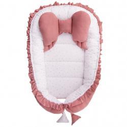 Hnízdečko pro miminko Belisima Angel Baby růžové Růžová