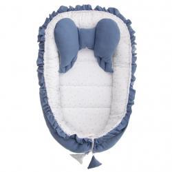 Hnízdečko pro miminko Belisima Angel Baby modré Modrá