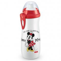 Dětská láhev NUK Sports Cup Disney Mickey 450 ml red Červená